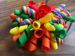 korker ribbon how to make a korker hairbow ponytail pony and craft