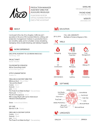 filmmaker clean and creative resume resume pinterest resume