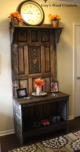 Entryway Hall Tree by 96 Best Cory U0027s Wood Creations Images On Pinterest Wood Creations
