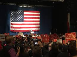 Mi Flag Trump To Michigan Rally U0027hillary U0027s Guilty She Knows It U0027
