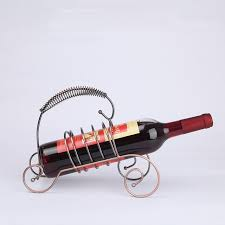 fashion metal wine rack hanging wine glass holder european style