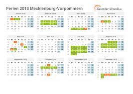 Kalender 2018 Feiertage Mv Ferien Meck Pomm 2018 Ferienkalender Zum Ausdrucken