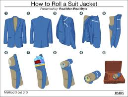 how to travel with a suit images How to fold a suit jacket 3 ways to pack sports jackets suits jpg