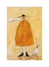 mr mustard buy mr mustard and the dog and duck sam toft print 35x54cm in