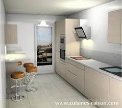 implantation cuisine en u délicieux implantation cuisine en u 3 cuisine couloir parallele
