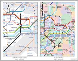 London Subway Map by Kickmap London