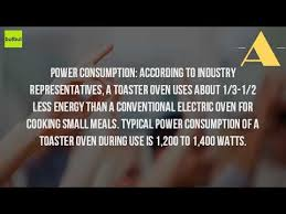 Energy Star Toaster Do Toaster Ovens Use Less Energy Youtube