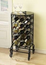 wine rack side table metal floor wine rack side table free standing bottle rack 15
