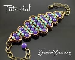beaded bracelet pattern images History beadwoven bracelet tutorial rulla bead pattern seed jpg