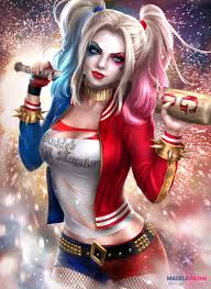 harley quinn clipart 1080p wallpaper pencil and in color harley