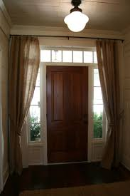 Craftsman Style Window Treatments Best 20 Front Door Curtains Ideas On Pinterest Door Curtains