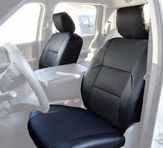dodge seat covers for trucks dodge ram 2009 2016 black s leather custom made fit front seat