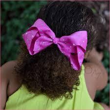 large hair rhinestone hair bows bargain bows