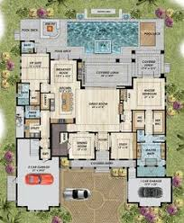 Mediterranean House Floor Plans Hmm Like The Master Closet Behind The Bed Separate Toilet