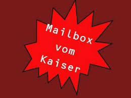 mailbox spr che mailbox vom kaiser franz