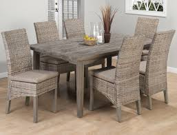 Distressed Dining Set Kitchen Table Satisfying Wood Kitchen Table Sets Dining