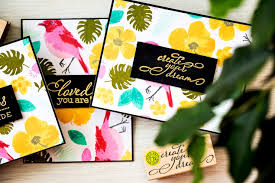 arts sting background patterns modern tropical cards