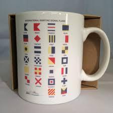 Flag Signals Meaning Mug International Maritime Signal Flags Alphabet U2013 New Waves Box