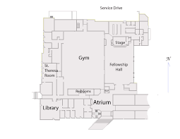 Church Fellowship Hall Floor Plans All Saints Catholic Community Dallas Tx Kamel Life Center 1st