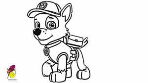 rocky paw patrol how to draw rocky from paw patrol youtube