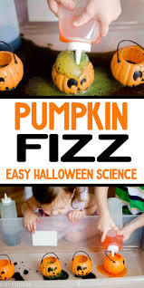 pumpkin fizz halloween science activity halloween science