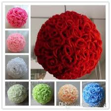 silk flower online cheap artificial balls silk flower balls