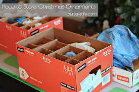 our lake how to store ornaments our lake