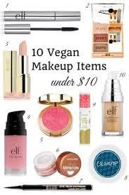 10 vegan makeup items under 10
