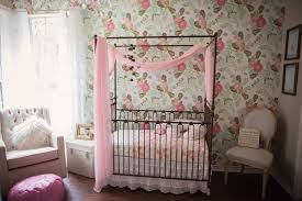 gold and floral nursery with a hint of nature project nursery