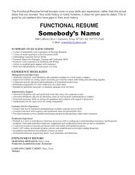 How To Write A Resume With No Job Experience by Sample Resume For Student With No Work Experience Functional