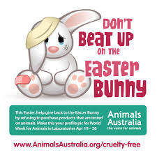 join the easter facebook makeover against animal testing