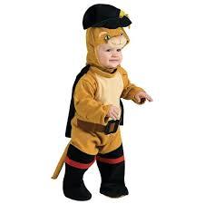 Halloween Costumes Babies 0 6 Months Shrek 4 Puss U0027 Boots Romper Costume Baby 0 6 Months Ebay