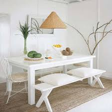 white table with bench charming decoration white dining table with bench well suited ideas