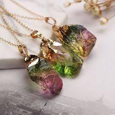 quartz rock necklace images Rock crystal necklace ebay jpg