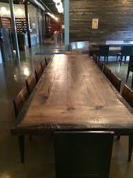 12 ft conference table reclaimed wood dining table 12 foot conference table top with or