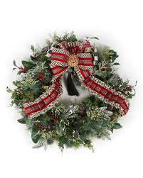wreaths garlands at neiman