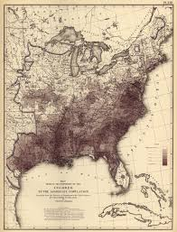 First Map Of United States by Radicalcartography