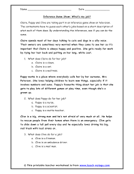 inference worksheets inference game show what u0027s my job