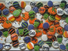 sweet delightz halloween mini cookies