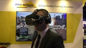 virtual reality vr military 4k wallpapers a man experiences elbit systems u0027 virtual reality military