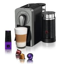 Titan Kitchen Krups Nespresso Prodigio U0026 Aeroccino Smart Coffee Machine Titan