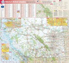 Wall Map British Columbia U0026 Alberta Provincial Wall Map By Globe Turner