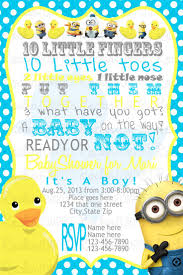 Halloween Baby Shower Invitation Template by Best 20 Minion Baby Shower Ideas On Pinterest Minion Cup