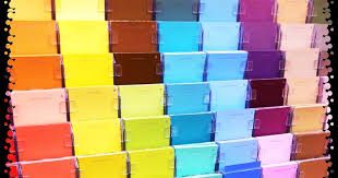 upcycled education paint swatch activities