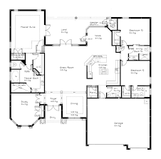 one story open floor plans open floor plans one story adhome