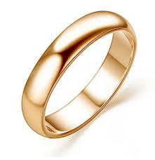 wedding gold rings classic design wedding ring 18k yellow gold plated fashion high