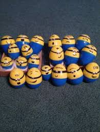 Easter Eggs Decorated Like Minions by Evil Purple Minion Easter Eggs Hahaha Easter Pinterest