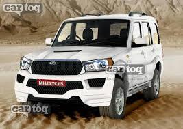 scorpio car new model 2013 render would the mahindra scorpio facelift look this way