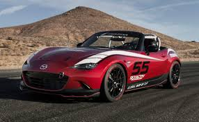 mazda sports car with a nod to its past mazda introduces new mx 5 race car