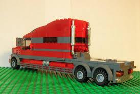 model semi trucks lego ideas super extended sleeper cab semi truck